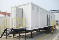 Trailer-mounted Camp